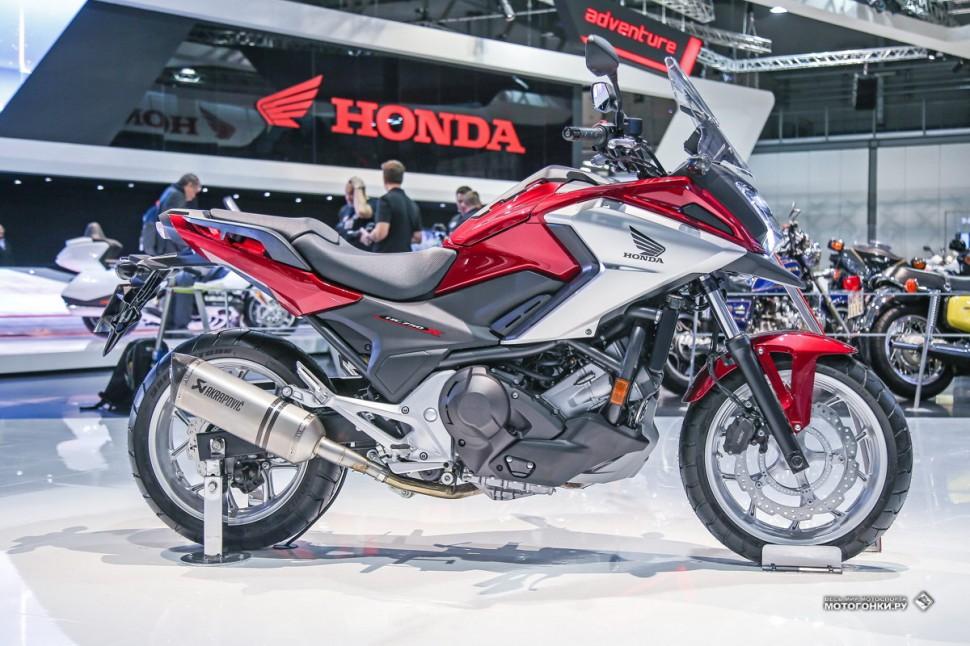 Цены на мотоциклы Honda 2018 года в России